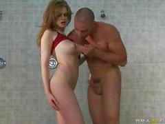 Faye Reagan Duş Odası Seks (HUUU)