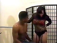 Ebony MILF Enjoying Black Cock Classic