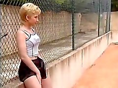 Deutsch Teenie Tennis