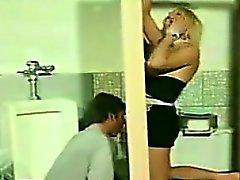Shemale Gloryhole In The Mens Washroom