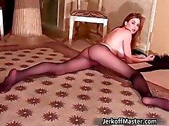 Sexy brunette teef Jamie Lynn part3