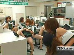 Japonês correios assaltante partido masturbação peituda