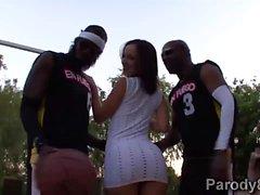 Miami em chamas com latinas quentes Jada Stevens e Emy Reyes