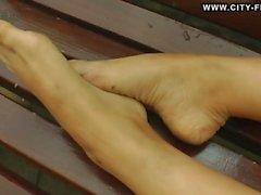 Sexy Dancing Feet in Public