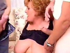 Inez from 1fuckdatecom - Chubby redheaded mindy does a 3