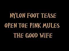 nylon foot