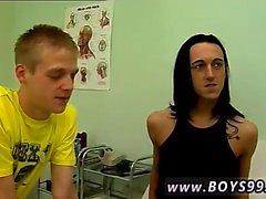 Skater pojke tecknadfilmer bögen pornografiska den Goth Kille Alex blir knullade