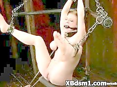 S & M Bondage Vrouw Extreme straf