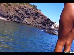 Nude Milfs Spy Cam Beach Voyeur Video