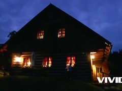 Vivid - A European tiroler slut milks this guy like a pro