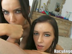 Spandex Ladungen Ally Kay, Indien Sommer, Charley Chase