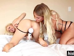Alix Lynx and Kissa Sins sharing dick