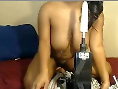 Ebony Sex Machine Squirt