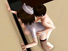 Aki - nee ( Hemşire) 3D ile Endless Atış