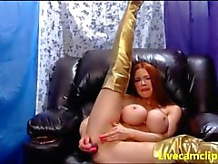 Busty porn star hardcore double penetrated