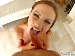 Ass Traffic Tina Kay from the UK gets anal hardcore