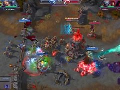 Heroes of the Storm 25-0 easy win ranked rekt in peace-