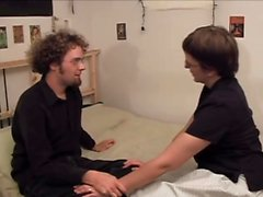 Hairy chubby hippie chick fucked and jizzed on