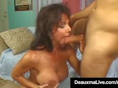 Brunette Milf Deauxma Par Guy Gets Fucked Avec Squirt Finale!