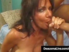 Brunette Milf Deauxma follada por individuo con Squirt final!