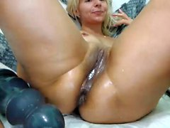 Busty Blonde Mature Amateur Lola from PerfectD