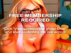 Taylor Stevens iFriends Webcam Hack 7-16-15
