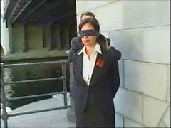 Compliation о завязанными глазами дамы 01