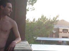 quasi raggiunto martinetto in pubblico sul mio balcone