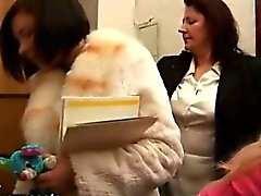 Горячей лесбиянка котятам домашнее животное их кисок .