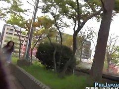 Heels asian pee street