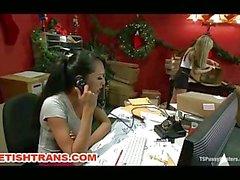 Transsexuellen Jessicas nimmt Girla