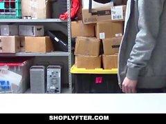 ShopLyfter - Guy Roubar Caught Gets Dominado por LP oficer