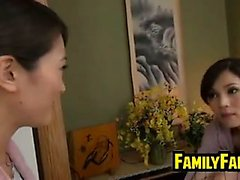 Asian Lesbian Step Mother