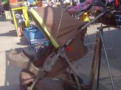 Candid Latina Market 0050