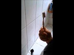 Maid Nadja kipsistä kylpyhuone hammasharjan esittäjä Lady Royal