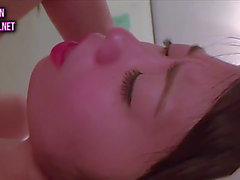 Japanese slutty wife on webcam three