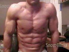 Kroppsbyggare Brett Mycles Webcam Posera Sammanställnings # en