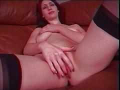 Beauty masturbating