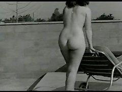Vendimia naturista del a Debby Westmore 1950