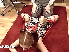 Extreme whore violently ana fucked and copulated BDSM sub