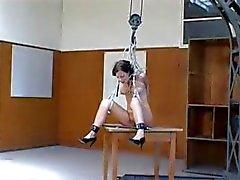 Qualen eines deutschen Slavegirl