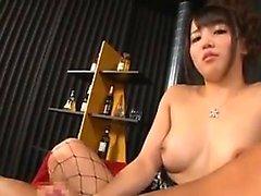 Cabeludo parafusos MILF, japonesas para um ejaculação