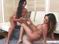 Ariella Ferrera Mom And Aunt Jewels Jade Having Fun With My Son