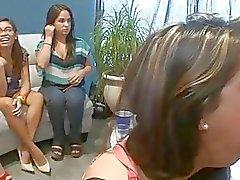 Woman folla stripper