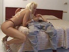 Blonde italian whore