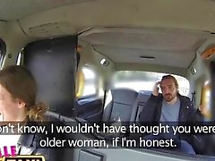 FemaleFakeTaxi Sexy driver gets some student cock