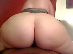 big booty girl rides a bbc