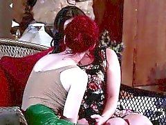 Redhead Justins hot lesbian sex