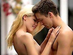 Frechen Tits Blondie Teen Izzy Delphine fickte Natur