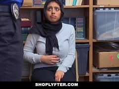 ShopLyfter - Hot Muslim Busty Teen Fucked By LP Officer